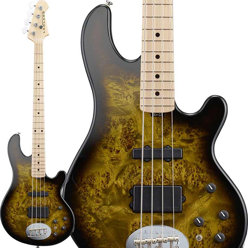 LAKLAND 《レイクランド》 Shoreline Series SL44-94 Deluxe Poplar Burl (Dark Oak Green Sunburst/M) 【納期未定(別途ご連絡)】