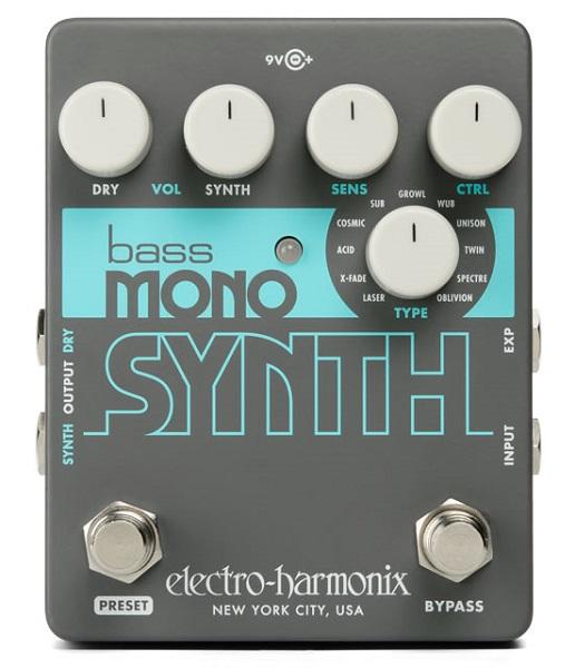 Electro Harmonix 《エレクトロ・ハーモニックス》 Bass Mono Synth [Bass Synthesizer] 【即納可能】