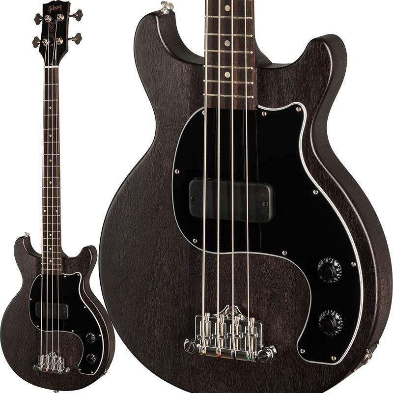 "Gibson 《ギブソン》 Les Paul Junior Tribute DC Bass (Worn Ebony)【b_p5】【数量限定""ギブソンロゴ入りトートバッグ&ピックケース""プレゼント!】【ギブソン純正アクセサリーパック・プレゼント!】 【Gibson USA 新製品】"