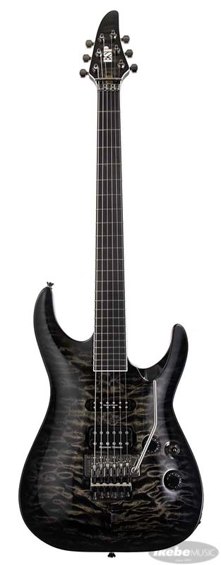 LUNA SEA SUGIZO Model ESP HORIZON SGZ Custom QUILT (Black See Thru Sunburst) [SUGIZO Model]【即納可能】