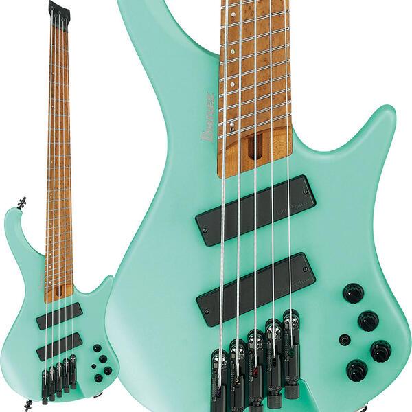 """Ibanez 《アイバニーズ》 Bass Workshop EHB1005MS-SFM [マルチスケール採用モデル] 【数量限定!アイバニーズ・ロゴ入り""""FRETWRAPS(フレットラップ)""""プレゼント!】 【次回10月以降入荷予定】"""