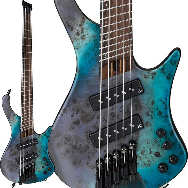 """Ibanez 《アイバニーズ》 Bass Workshop EHB1505MS-TSF [マルチスケール採用モデル] 【数量限定!アイバニーズ・ロゴ入り""""FRETWRAPS(フレットラップ)""""プレゼント!】【次回9月以降入荷予定】"""