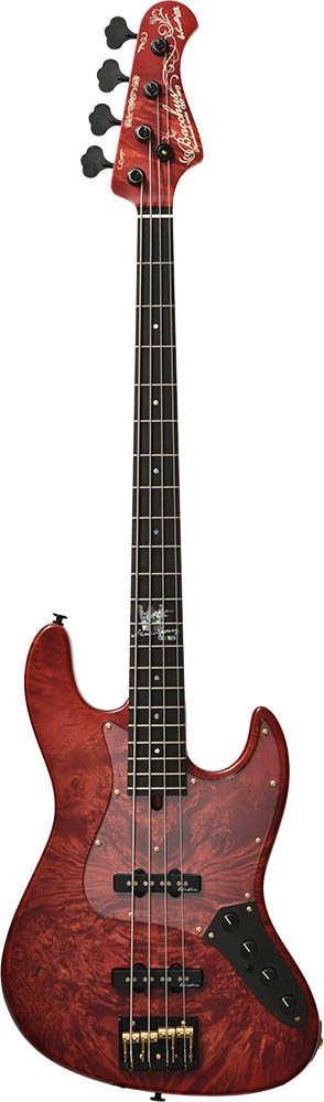 Bacchus 《バッカス》 WOODLINE4-20TH'19W-BM (RED-MAT) 【Deviser One Day Guitar Show選定品】