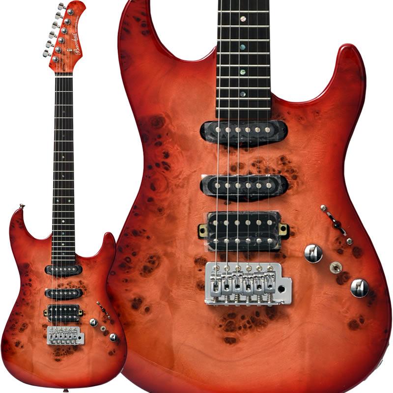 Bacchus 《バッカス》 UNIVERSE Series GS-mini BP/R [バールポプラTOP採用スモールサイズ・エレキギター] (RD-B/レッドバースト) 【特価】