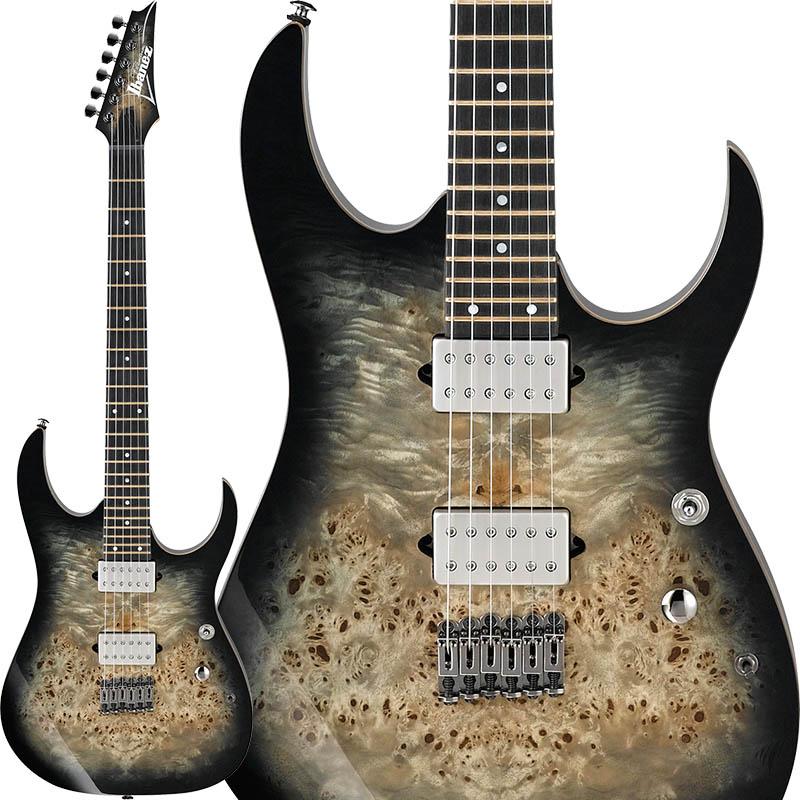 """エレキギター Ibanez 《アイバニーズ》 Premium RG1121PB-CKB 【数量限定!アイバニーズ・ロゴ入り""""FRETWRAPS(フレットラップ)""""プレゼント!】"""