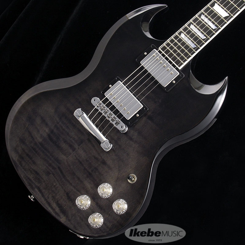 "Gibson 《ギブソンUSA》 SG Modern Trans Black Fade 【SN.202900100】【g_p5】【数量限定""ギブソンロゴ入りピックケース""プレゼント!】【ギブソン純正アクセサリーパック・プレゼント!】 【Gibson USA 新製品】"