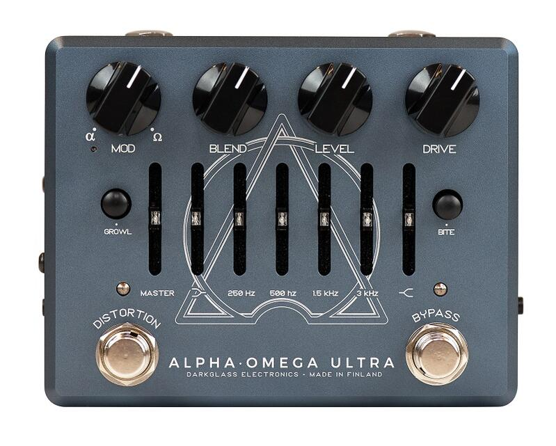 Darkglass Electronics 《ダークグラス》 Alpha·Omega Ultra v2 with Aux In 【即納可能】