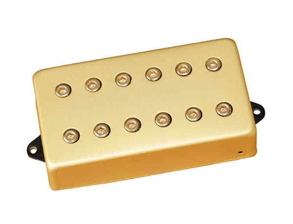 DiMarzio 《ディマジオ》 Titan Bridge [DP259] (Satin Gold/Standard-Spaced)【安心の正規輸入品】