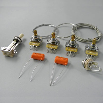 Montreux 《モントルー》 Selected Parts / Montreux LP wiring kit ver.1 [9207]