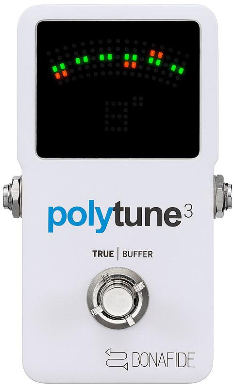 TC Electronic 《TCエレクトロニック》 POLYTUNE 3 ※国内正規品