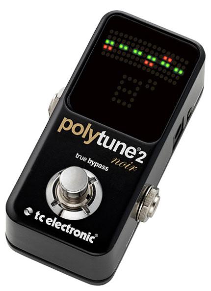 TC Electronic 《TCエレクトロニック》 POLYTUNE 2 NOIR ※国内正規品