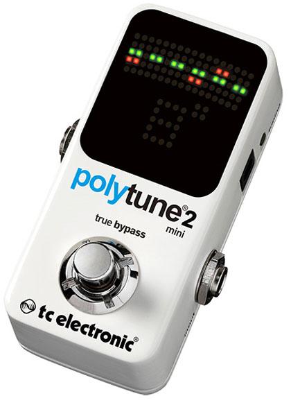 TC Electronic 《TCエレクトロニック》 POLYTUNE 2 MINI ※国内正規品