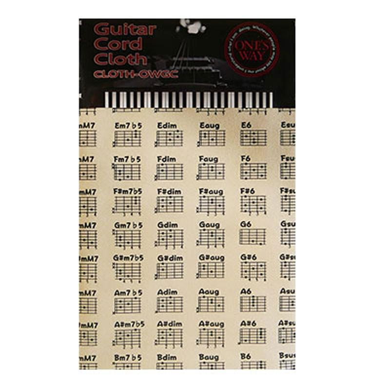 楽器用クロス ONE'S 卓越 WAYGUITAR CORD CLOTH CRM CLOTH-OWGC アウトレット