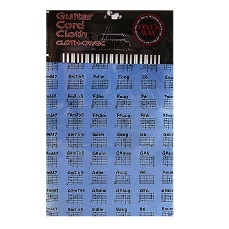 人気商品 楽器用クロス ONE'S WAYGUITAR 卓越 CORD CLOTH-OWGC CLOTH LBL