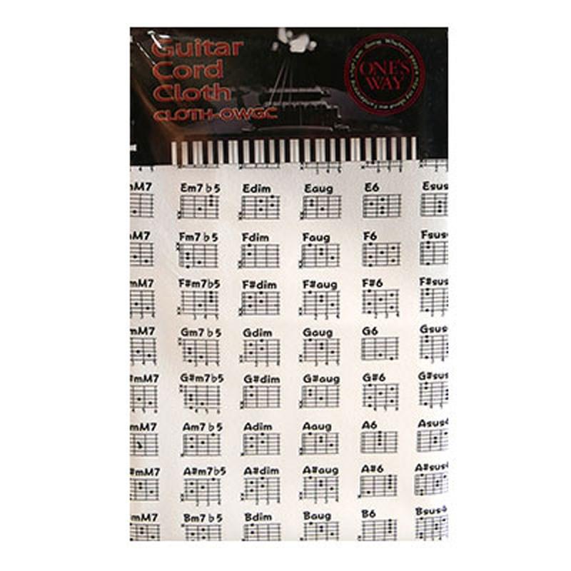 楽器用クロス ONE'S 選択 WAYGUITAR CORD CLOTH WHT CLOTH-OWGC お得セット