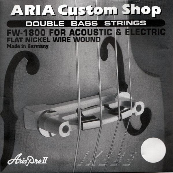 ARIA 《アリア》 FW-1800 Double Bass Strings / SWBシリーズ用ソリッド・ウッドベース弦【4弦】