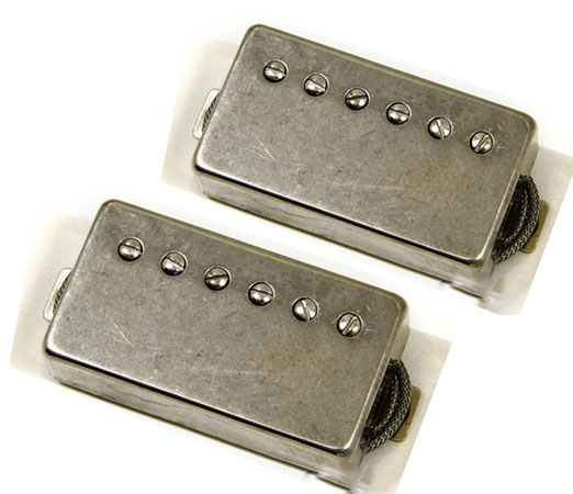 Lollar Pickups 《ローラー・ピックアップ》 Low Wind Imperial Humbucker Pickup Light Aged Set (Single conductor wire)【お取り寄せ商品】