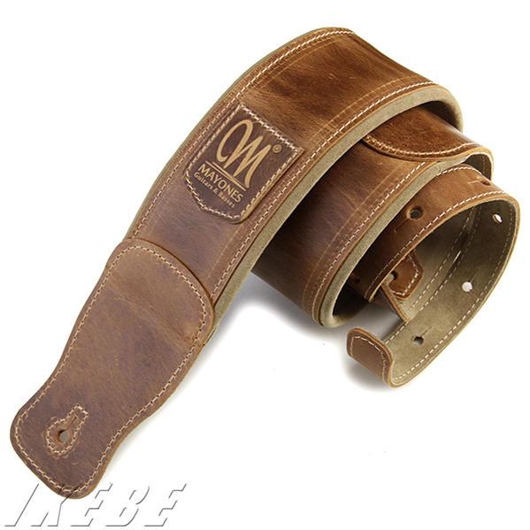 MAYONES 《メイワンズ》Leather Strap / Light Brown 〔MASTR03〕