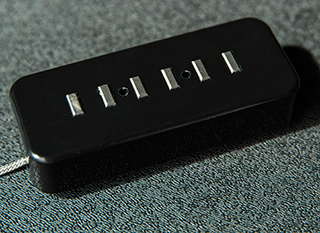 Lollar Pickups 《ローラー・ピックアップ》 P-90 Staple Pickup Black