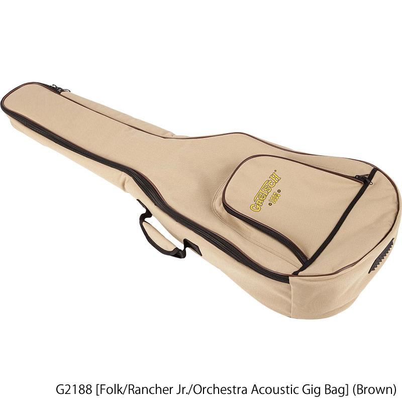 GRETSCH《グレッチ》 G2188 [Folk/Rancher Jr./Orchestra Acoustic Gig Bag] (Brown)