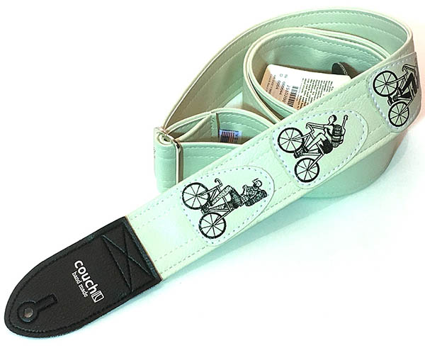 Couch Guitar Strap Bicycle Crew