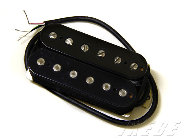 Lollar Pickups 《ローラー・ピックアップ》 Imperial Humbucker Pickup Standard Black(Neck/Single conductor wire)【即納可能】