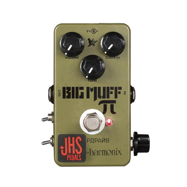 "JHS PEDALS《ジェイエイチペダル》EHX Green Russian Big Muff ""Moscow Mod"""