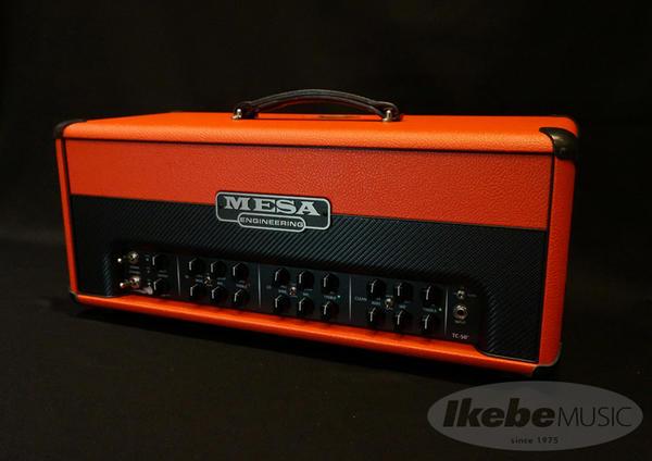 Mesa Boogie 《メサ ブギー》 Triple Crown TC-50 Head[Red Bronco/Black]【限定特価】