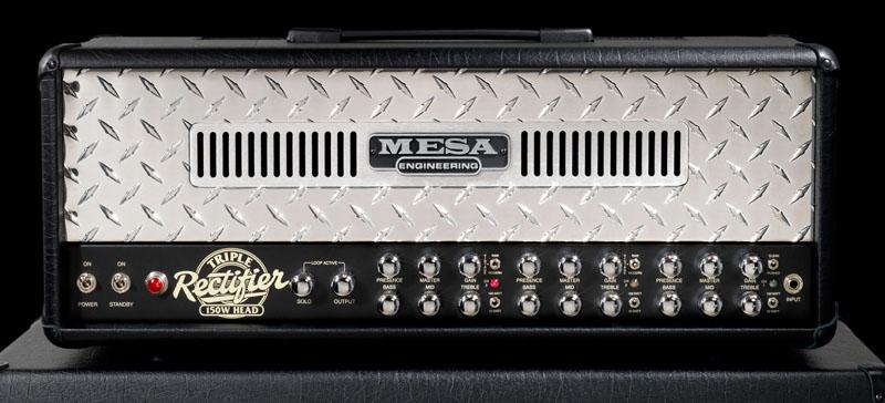 Mesa Boogie 《メサ ブギー》 Triple Rectifier Solo Head [Multiwatt]【旧価格分・限定特価&数量限定セミハード・ヘッド用キャリングケースプレゼント!】