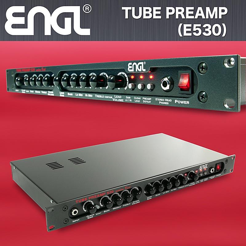 ENGL 《エングル》 TUBE PREAMP [E530] 台数限定スペシャルプライス