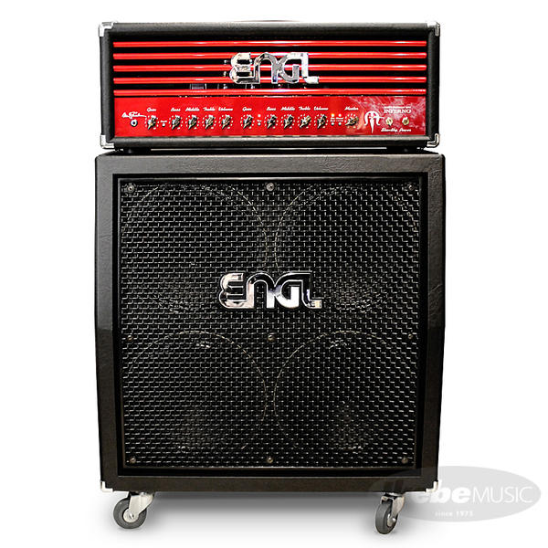 "ENGL 《エングル》 Marty Friedman""INFERNO""Signature [E766] + 4x12 Pro Cabinet [E412VSB] SET 【購入特典3点セット付き】"