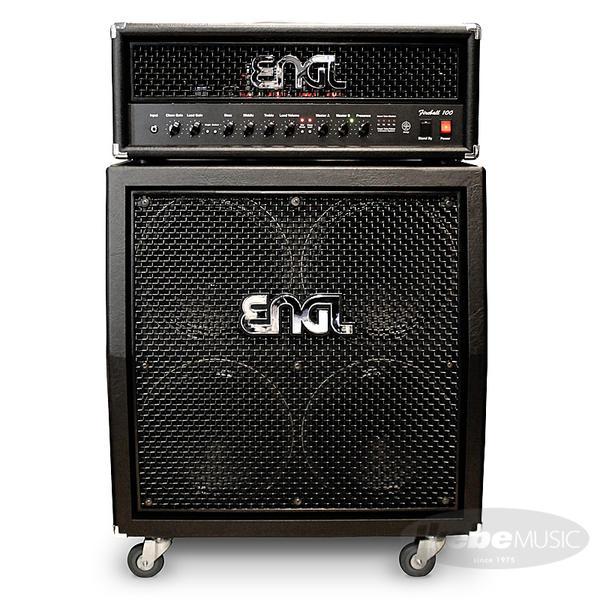 ENGL 《エングル》 Fireball 100 [E635] + 4x12 Pro Cabinet [E412VSB] SET 【購入特典3点セット付き】