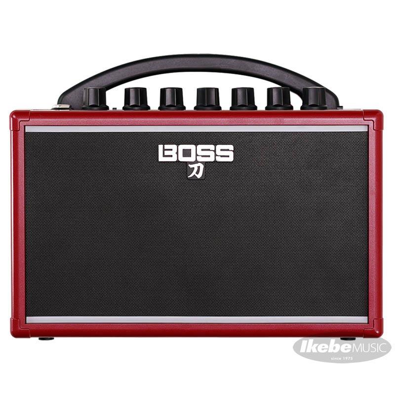 "BOSS 《ボス》 IKEBE ORIGINAL KATANA-MINI ""RED"" [KTN-MINI-R] 【ミニサイズ・ギターアンプ】"