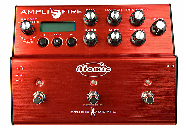 Atomic Amps AMPLIFIRE PEDAL☆即納可能です!