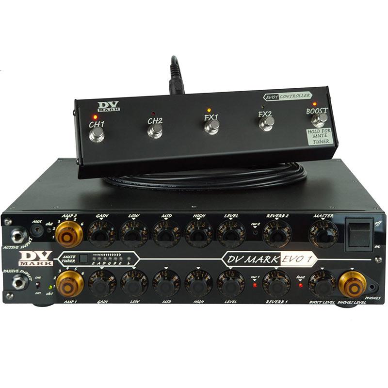 【ギターアンプ・ヘッド】 DV MARK EVO-1+DV EVO 1 Controller Set 【展示・特価品】
