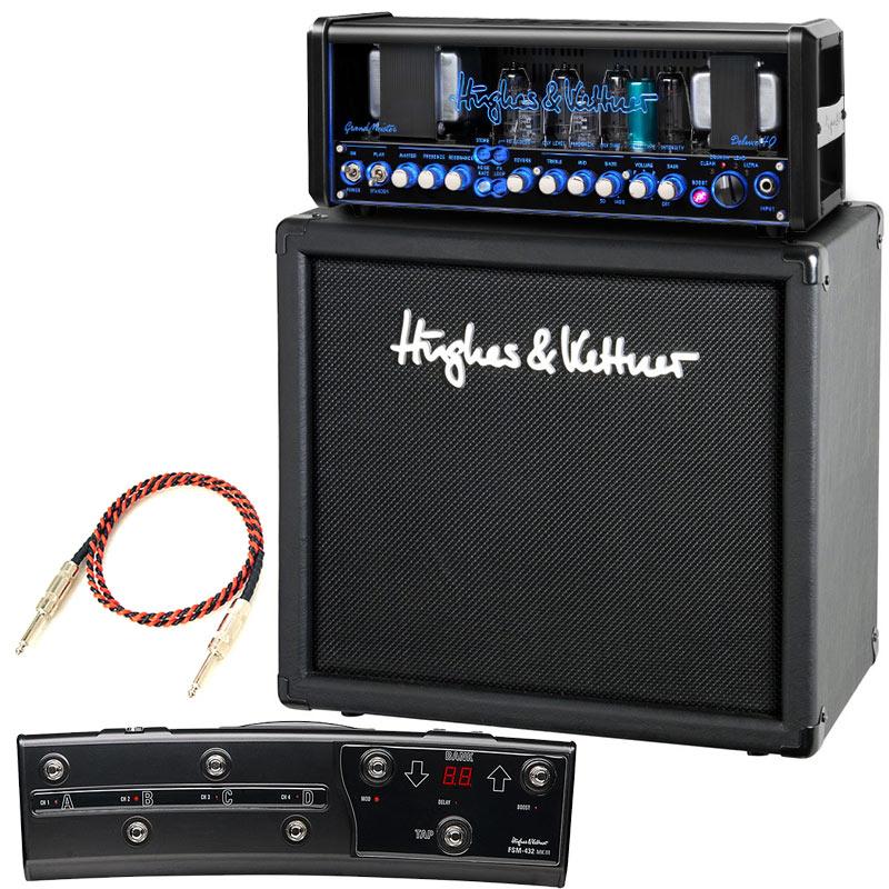 Hughes & Kettner 《ヒュース&ケトナー》 GrandMeister Deluxe40 + TM112 Cabinet + FSM432 MKIII【お買い得3点セット】Belden#9497スピーカーケーブル付き