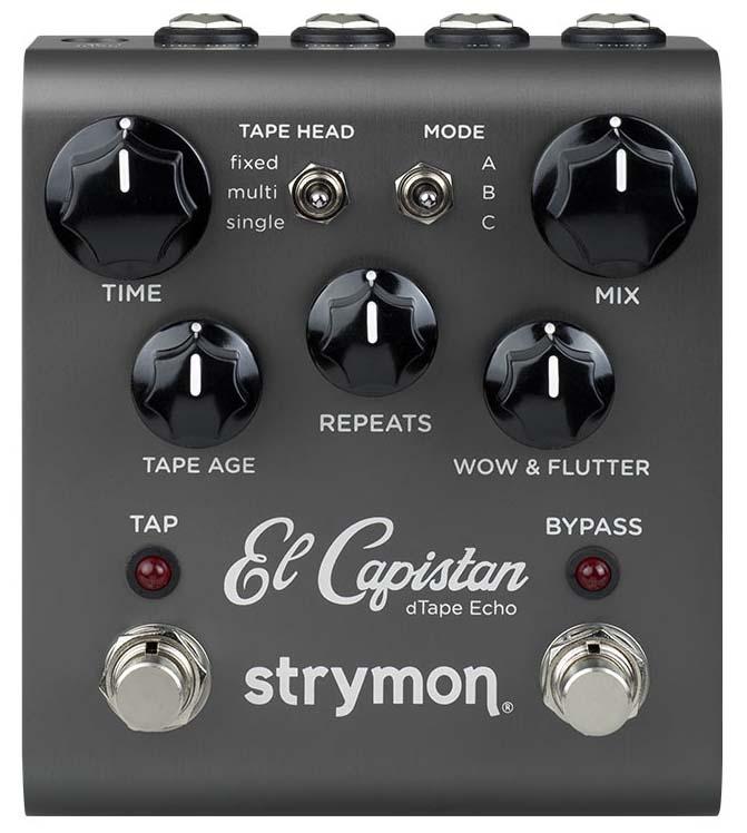 テープエコー シミュレーター メーカー再生品 春の新作シューズ満載 strymon 《ストライモン》 El Capistan ef_p5 Echo dTape