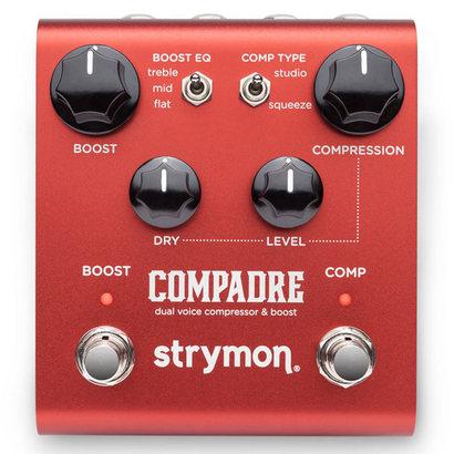ストライモン 人気急上昇 コンプレッサー strymon セール価格 《ストライモン》 COMPADRE voice ef_p5 compressor dual boost
