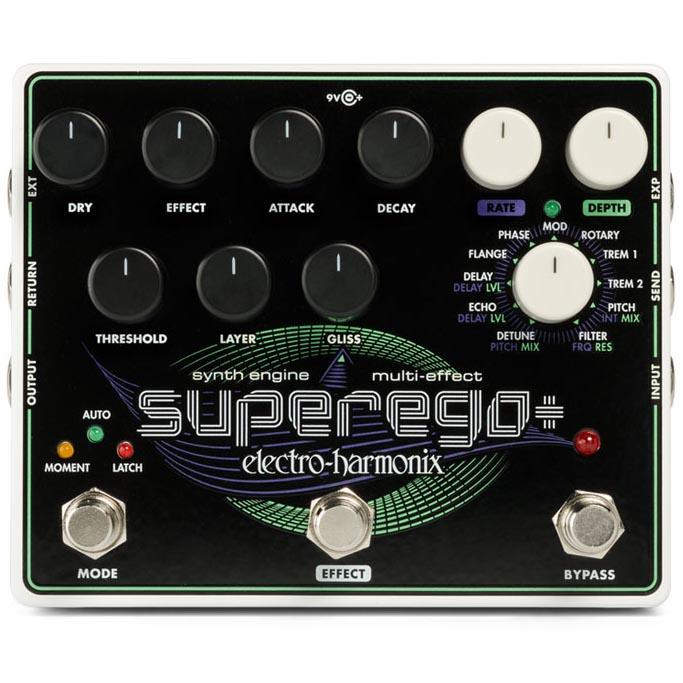 Electro Harmonix 《エレクトロ・ハーモニックス》 Superego+ [Synth Engine / Multi Effect]【特価】