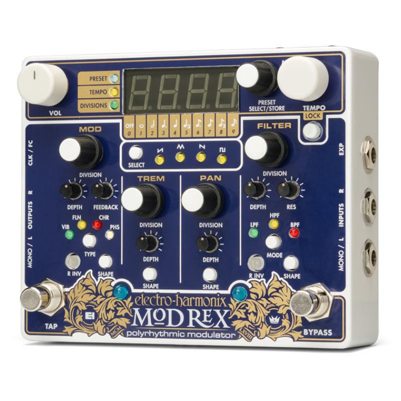Electro Harmonix 《エレクトロ・ハーモニックス》 Mod Rex [Polyrhythmic Modulator][モジュレーション・エフェクター]【台数限定特価】