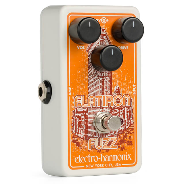 Electro Harmonix 《エレクトロ・ハーモニックス》 Flatiron Fuzz [Fuzz/Distortion]