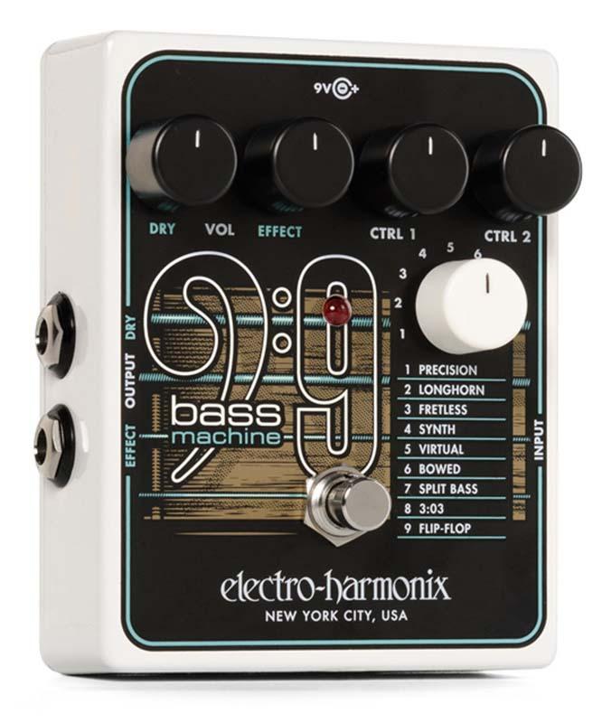 Electro Harmonix 《エレクトロ・ハーモニックス》 BASS9 [Bass Machine]