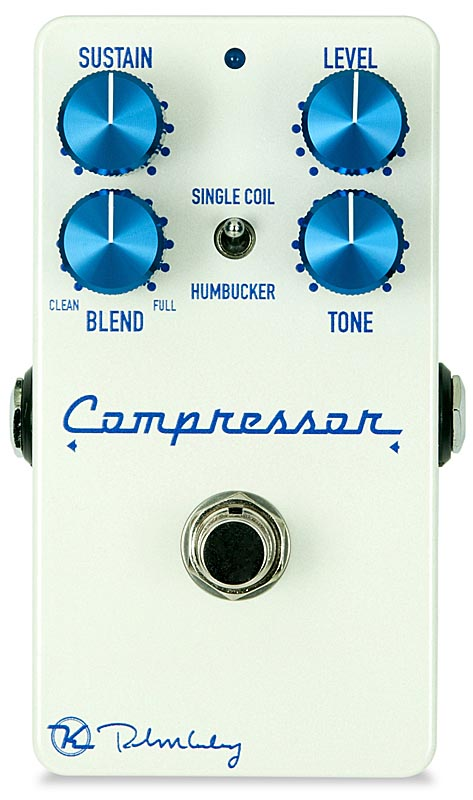 Keeley Electronics 《キーリー》 Compressor Plus LTD Pearl White 【今がチャンス!円高還元セール!】