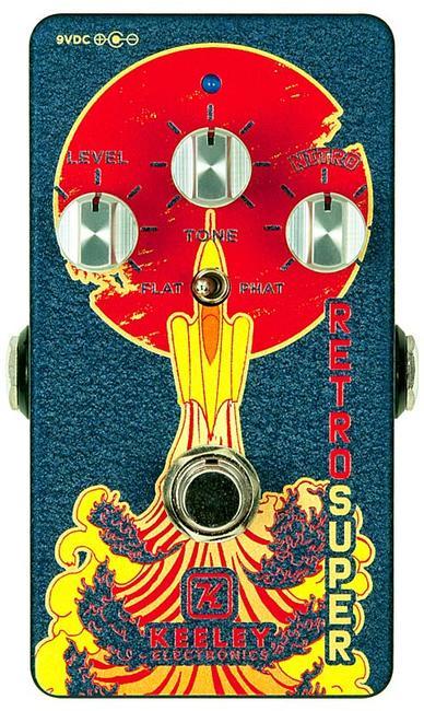 Keeley Electronics 《キーリー》 Retro Super Phat Mod Germanium 【今がチャンス!円高還元セール!】【Tシャツプレゼント!】