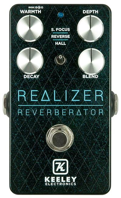 Keeley Electronics 《キーリー》 Realizer Reverberator 【今がチャンス!円高還元セール!】 【Tシャツプレゼント!】1/31発売予定