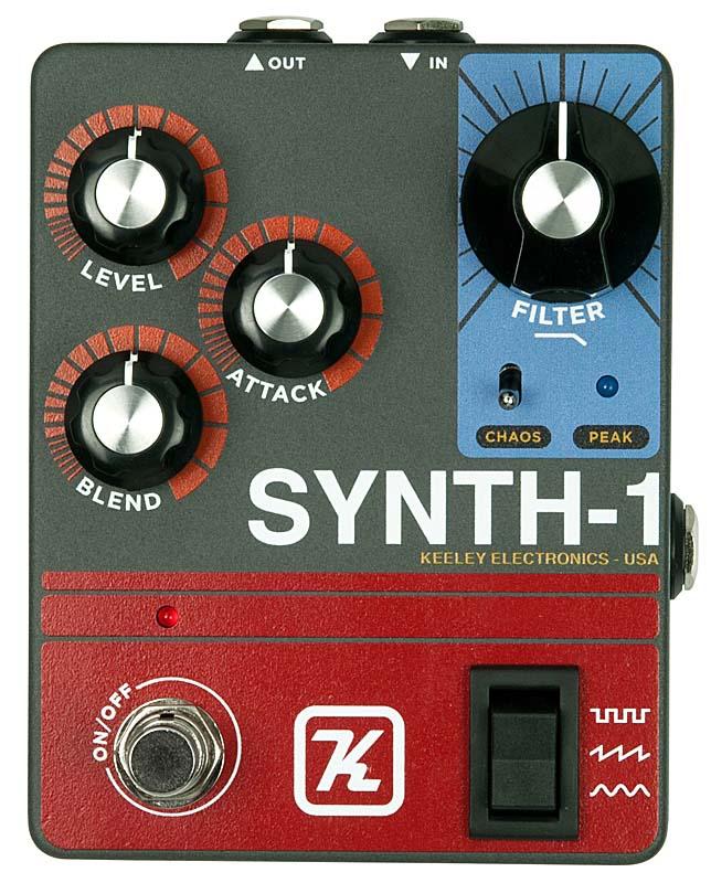 Keeley Electronics 《キーリー》 Synth-1 Reverse Generator Attack Fuzz Synth-1 Wave Attack Generator【今がチャンス!円高還元セール!】, BLANC LAPIN [ブランラパン]:b04c6598 --- sunward.msk.ru