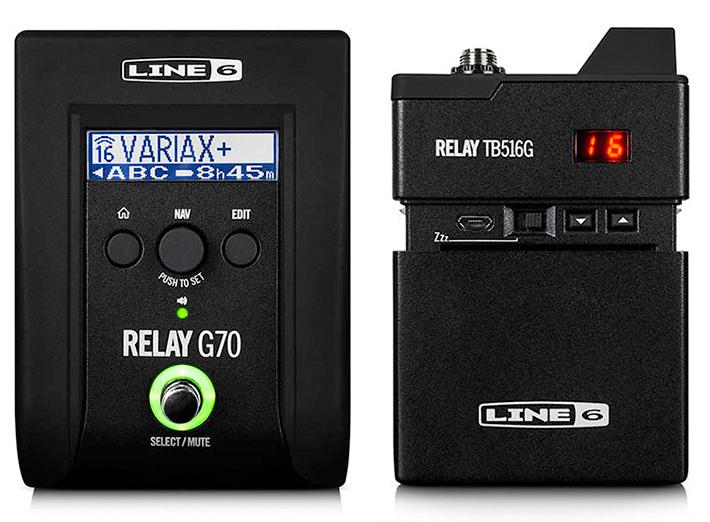 LINE6 《ラインシックス》 Relay G70 [Wireless System]【LINE6トランスミッターホルダープレゼント!!】【ef_p5】