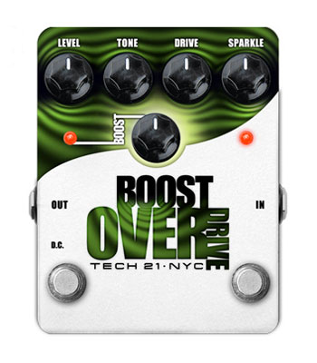 TECH21 《テック21》 BOOST OVER DRIVE