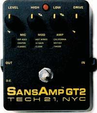 TECH21 《テック21》 SANSAMP GT-2
