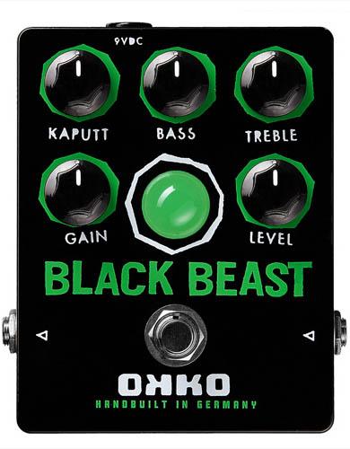 ファズ ディストーション OKKO BEAST 海外 BLACK お見舞い 《オッコ》